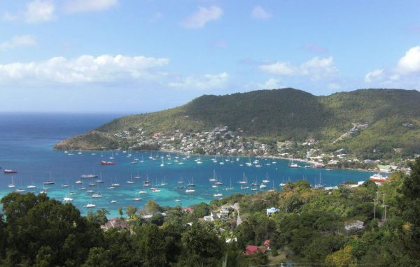 Admirality Bay Bequia from Belmont